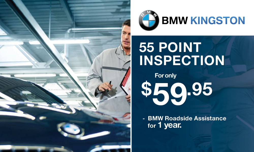 BMW Kingston 55 Point Inspection
