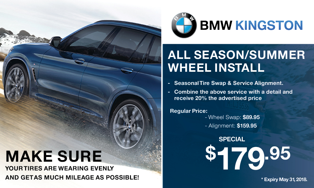 BMW Kingston Yearly Service Campaign