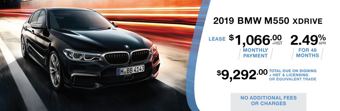 BMW KINGSTON BMW M550 LEASING OFFER LP
