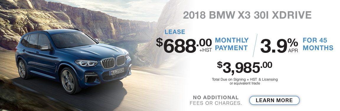 BMW Kingston X3-30I XDRIVE