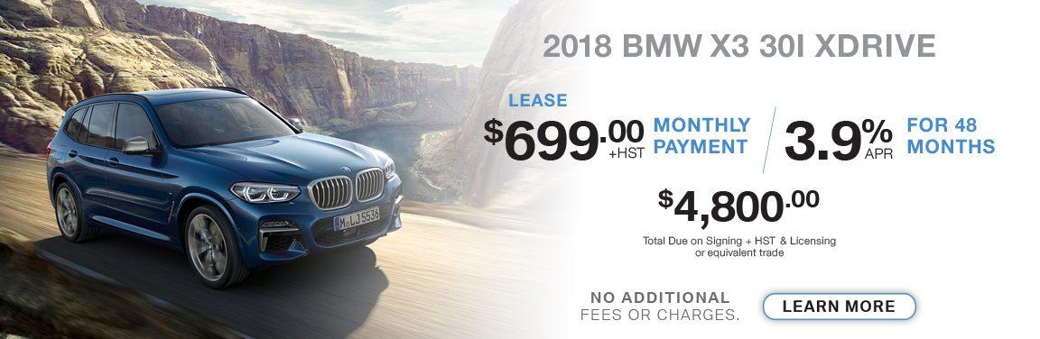 BMW X3 30I XDRIVE