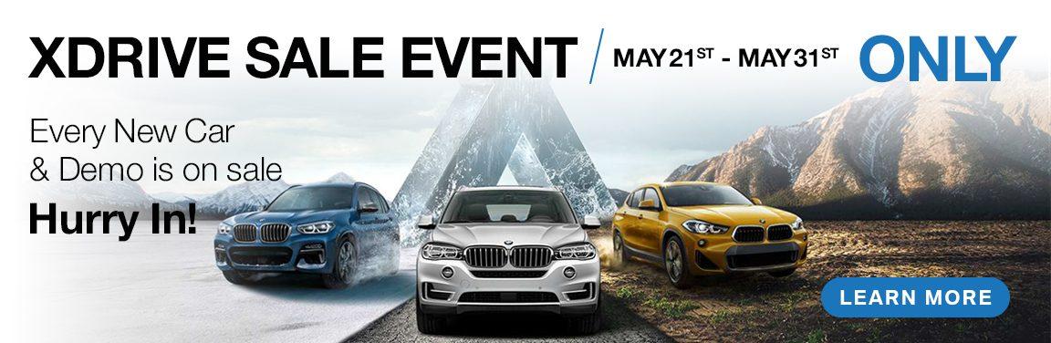 BMW Kingston XDrive Demo Sales Event