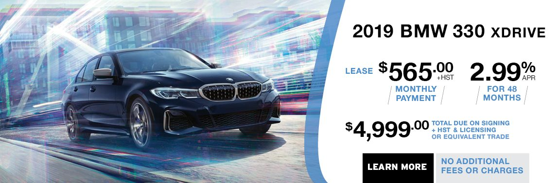 BMW KINGSTON BMW 330 X DRIVE LEASING OFFER S